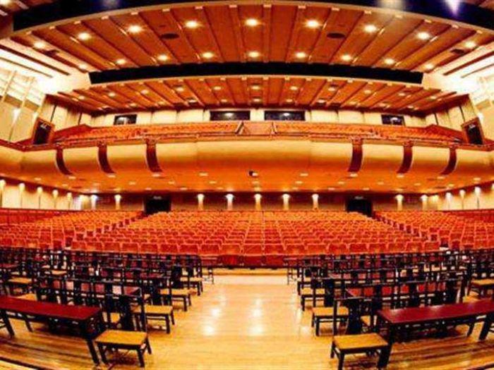 长安大戏院内部正视图片