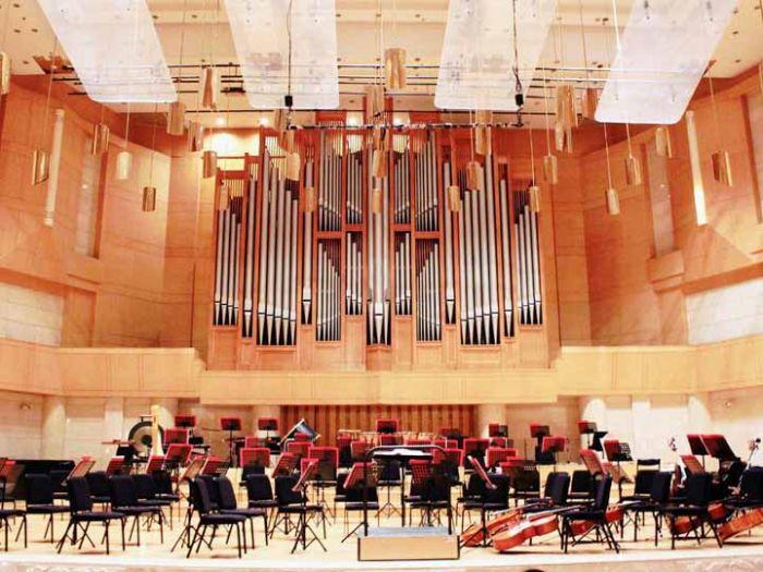 中山音乐厅内部规划图