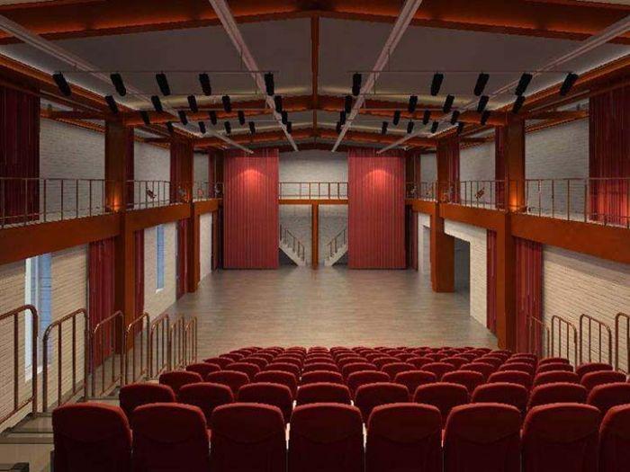 世纪剧院内部座位图