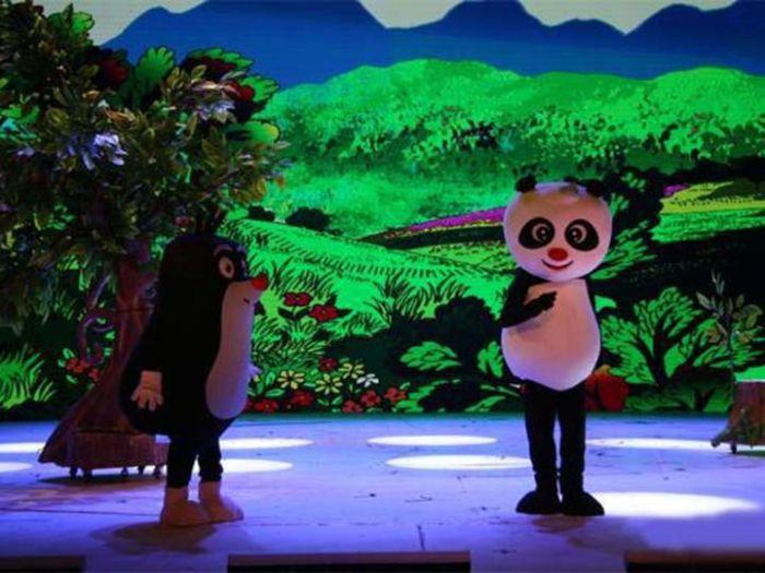 中国木偶剧院大剧场图片-内部图
