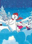 雪景体验式经典动漫舞台剧《雪孩子》