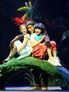 第八届中国儿童戏剧节 儿童剧《锛儿头小辫儿之疯狂的猿人》