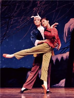 上海芭蕾舞团《白毛女》