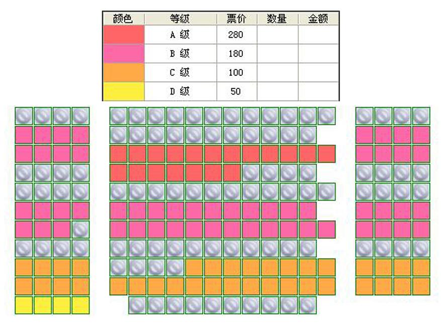 黄彦卓导演舞台剧《狼》座位图