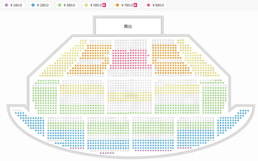 《长征组歌》—难忘的红色旋律大型交响音乐会座位图