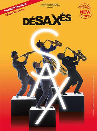 法国巴黎四怪客喜剧互动儿童音乐会《疯狂萨克斯2》