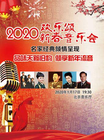 欢乐颂名家与经典新春音乐会门票_首都票务网